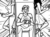 Archie Comics Phone Coloring Page