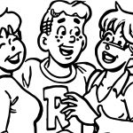 Archie Girls Fun Comics Coloring Page