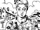 Archie Goodbye Forever New Look Coloring Page