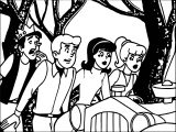 Archie Show Coloring Page