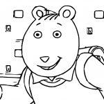 Arthur Friend Coloring Pages