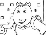 Arthur Friend Coloring Pages