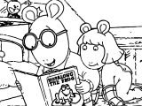 Arthur Frog Story Coloring Page