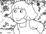 Arthur Girl Friends Coloring Page