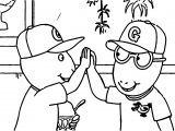 Arthur Good Job Coloring Page