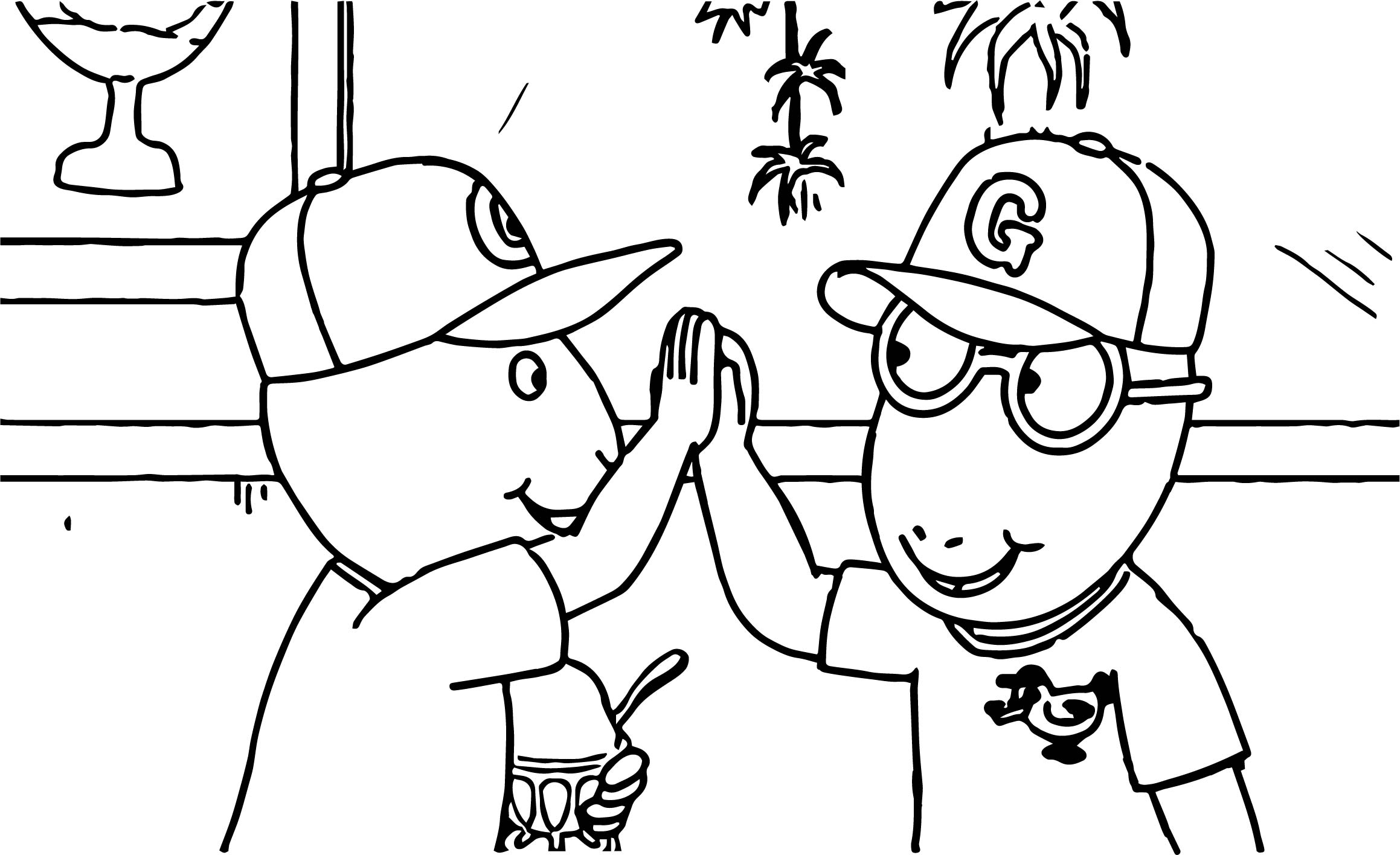 Good Job Coloring Page Coloring
