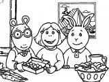 Arthur Main Image Coloring Page