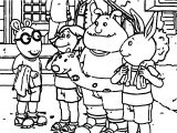 Arthur Pageant Pickle Coloring Page