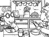 Arthur Whip Coloring Page