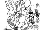 Asterix Europe Coloring Page