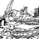 Asterix Ship Coloring Page