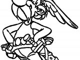 Asterix Top Coloring Page