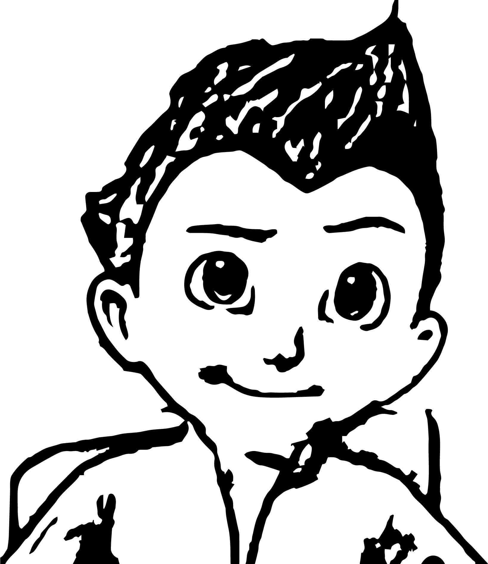 Astro Boy Away Coloring Page