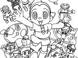 Astro Boy Boys Coloring Page