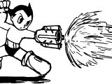 Astro Boy Fire New Coloring Page
