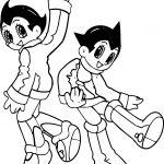 Astro Boy Good Coloring Page