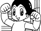 Astro Boy My Power Coloring Pages