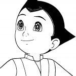 Astro Boy Ok Coloring Page