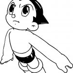 Astro Boy Up Coloring Page