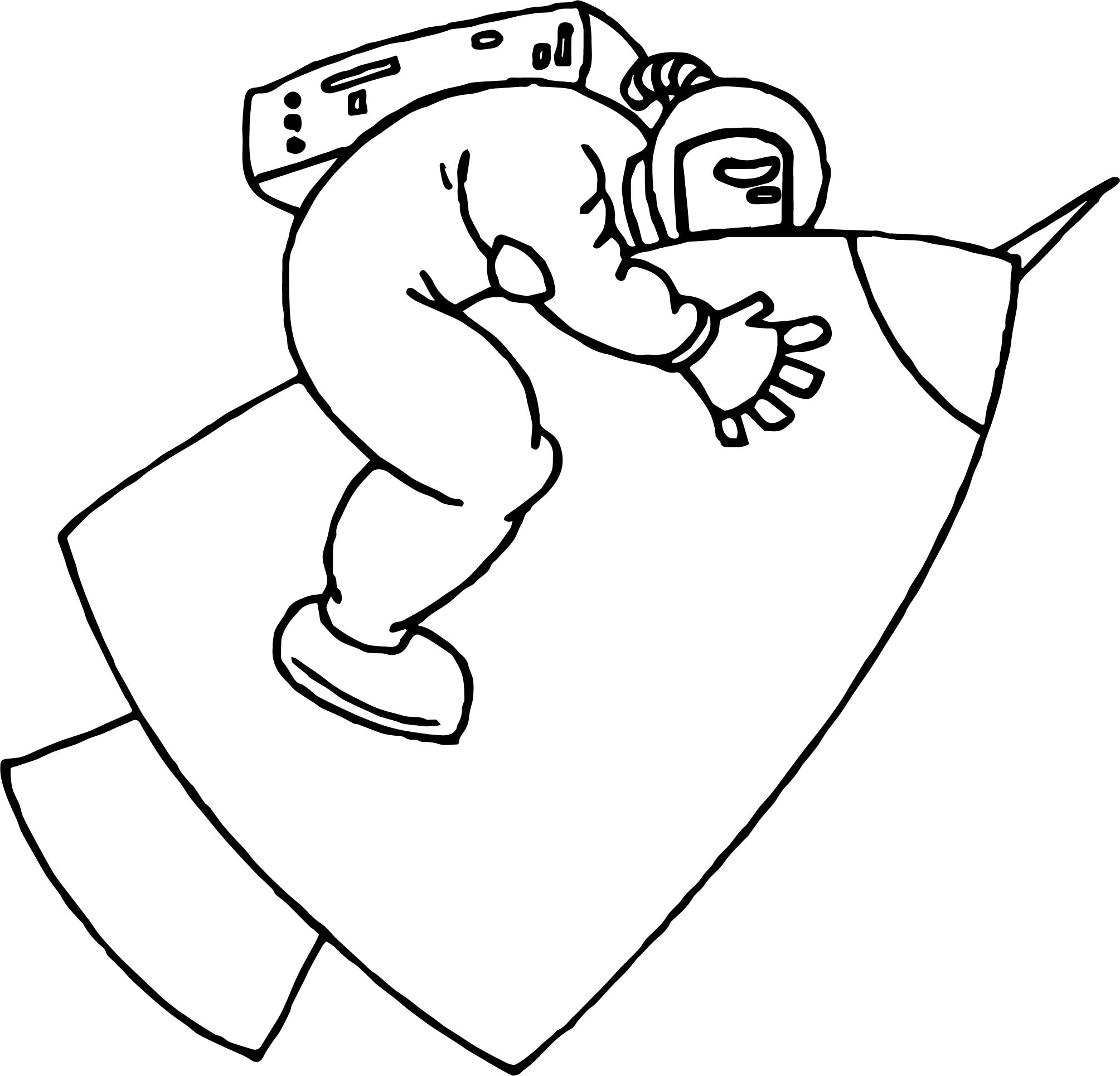 Astronaut Unkown Coloring Page