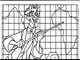Atlantis The Lost Empire James Thatch Look Map Coloring Page