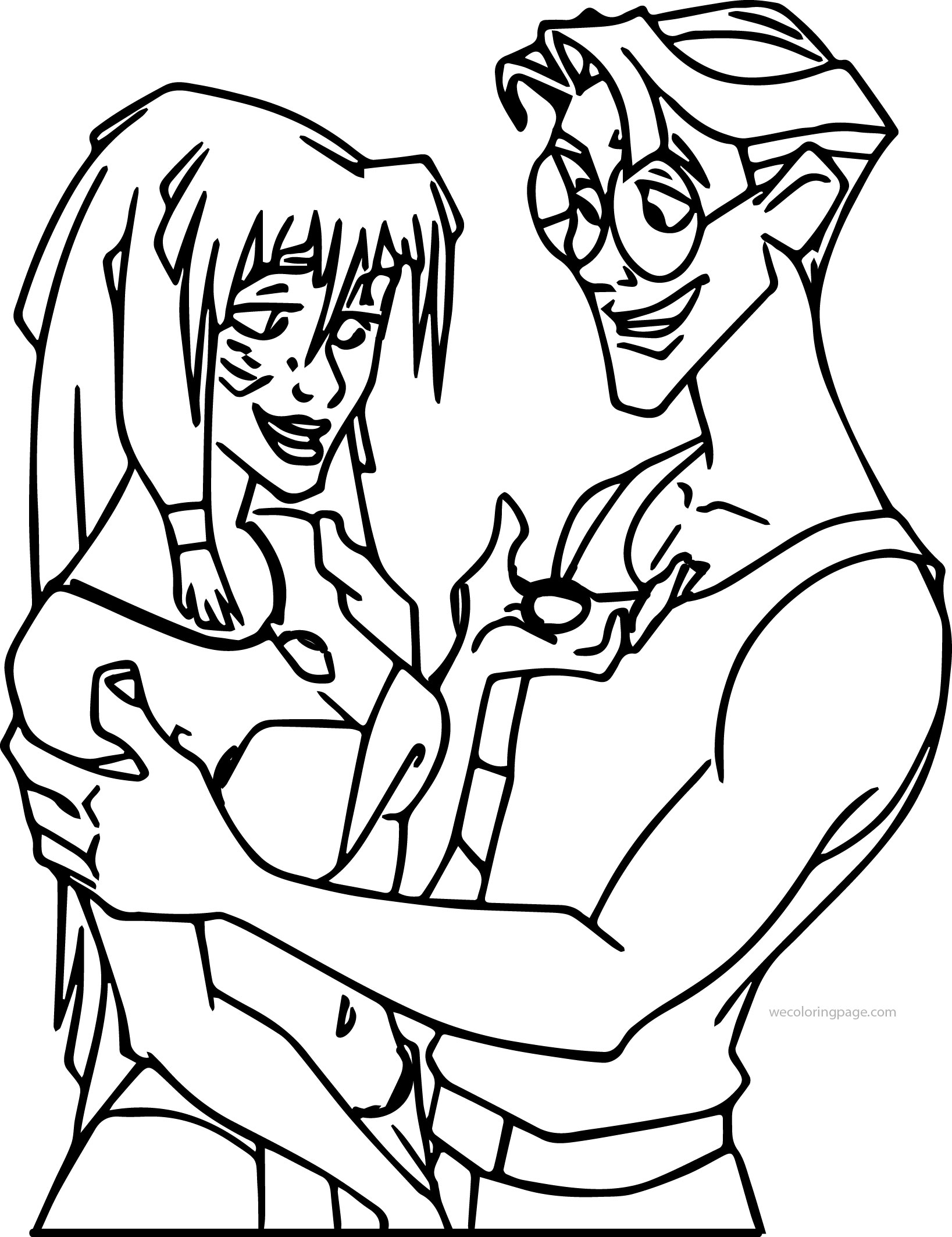 Atlantis The Lost Empire Milo Kida Medal Coloring Page