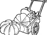 Autumn Pumpkins Coloring Page