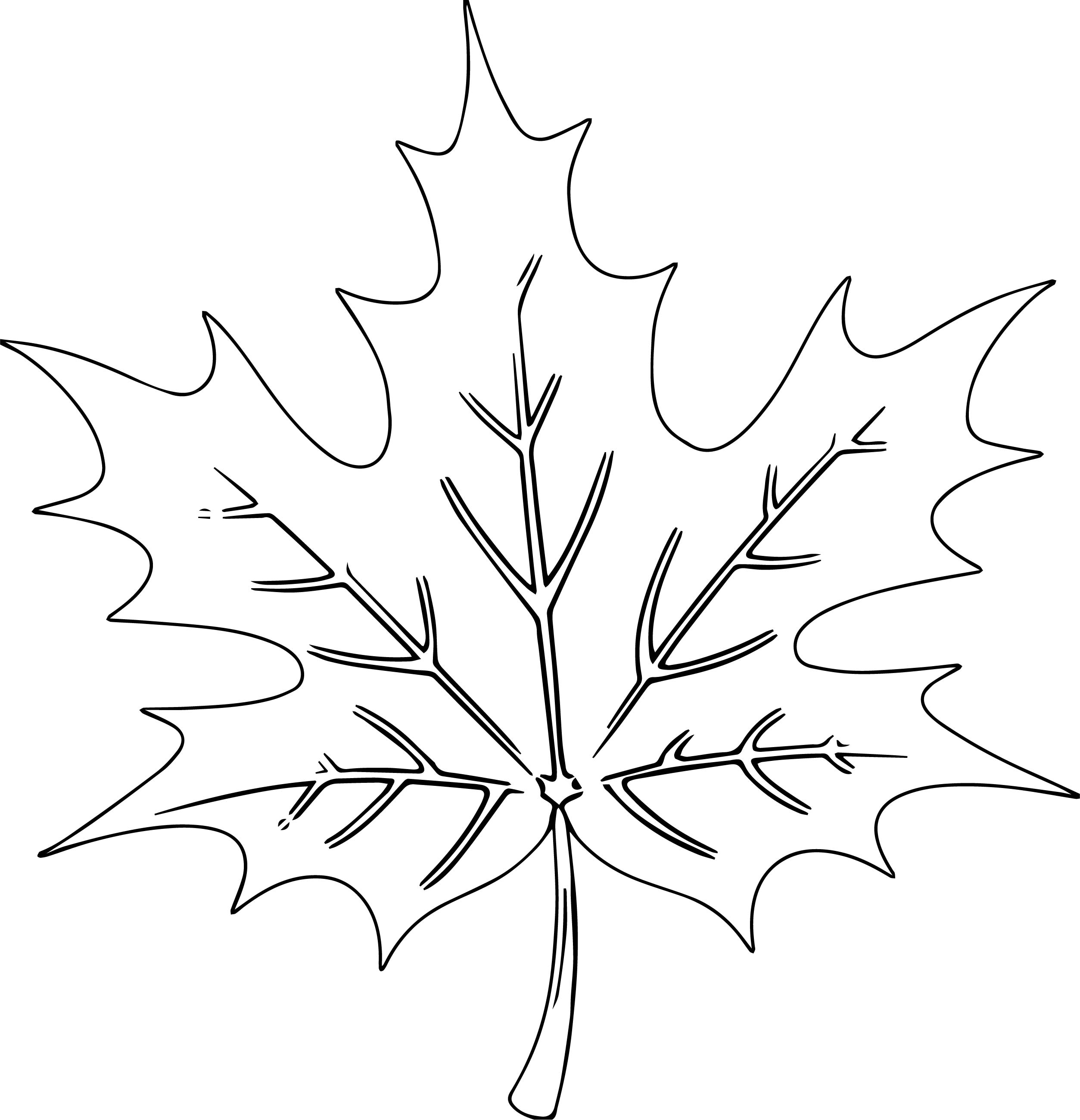 Autumn Scenery Coloring Page