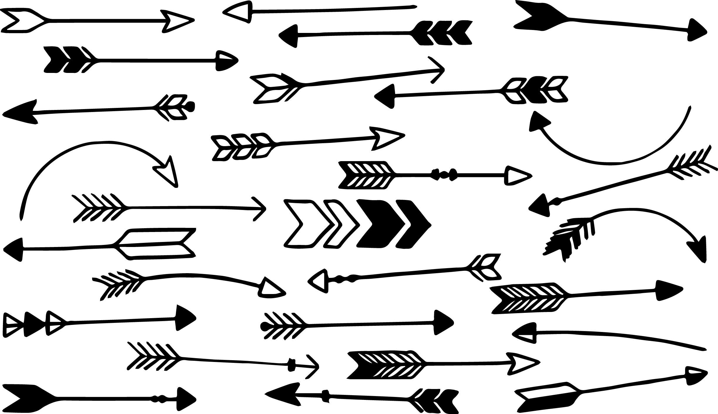 Aztec Arrows Coloring Page