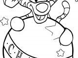 Baby Tigger Char Ball Coloring Page
