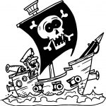 Bad Captain Coloring Page