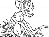 Bambi Flowers Coloring Pages