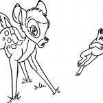 Bambi Frog Coloring Pages