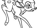 Bambi Going Coloring Pages