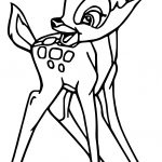 Bambi Happy Coloring Pages