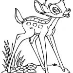 Bambi Hi Coloring Pages