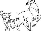 Bambi Prince Coloring Page