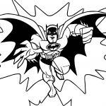 Batman Bat Blog Coloring Page