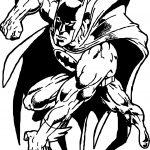Batman Picture Coloring Page