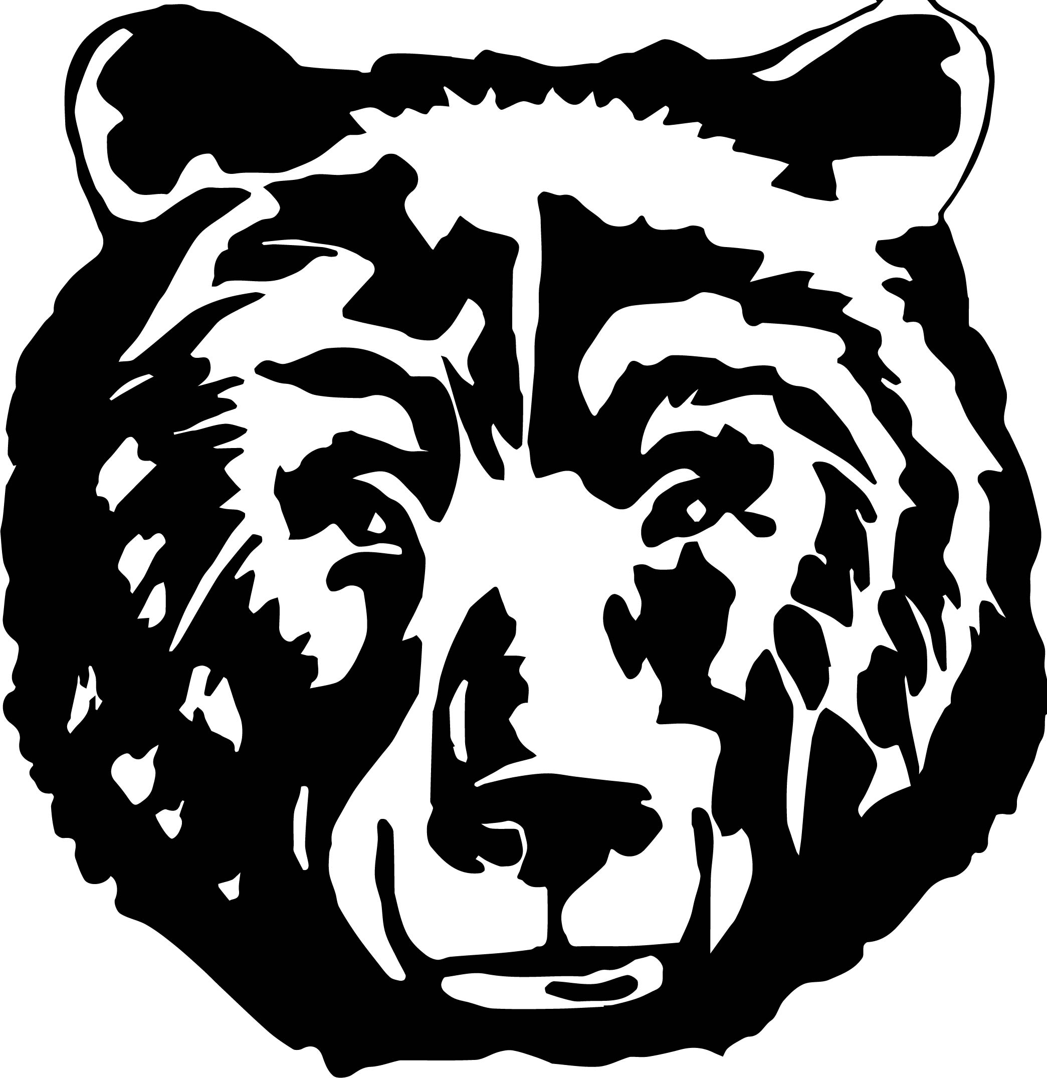 Bear Black Face Coloring Page
