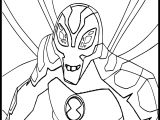 Ben Ten Alien Force Big Chill By Flutterfly Coloring Page