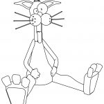 Billthecat Satisfied Coloring Page