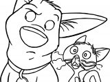 Bolt Dog Listen Coloring Pages