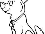 Bolt Dog Wait Coloring Pages