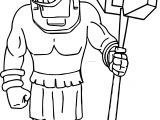Boom Coloring On The Beach Character Warrior Soldier Coloring Page