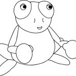 Boxing Frog Coloring Page