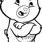 Care Bears Talking Adventures in Care A Lot Coloring Page