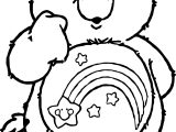 Care Bears Think Coloring Page
