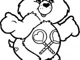 Care Bears What Can I Do Coloring Page
