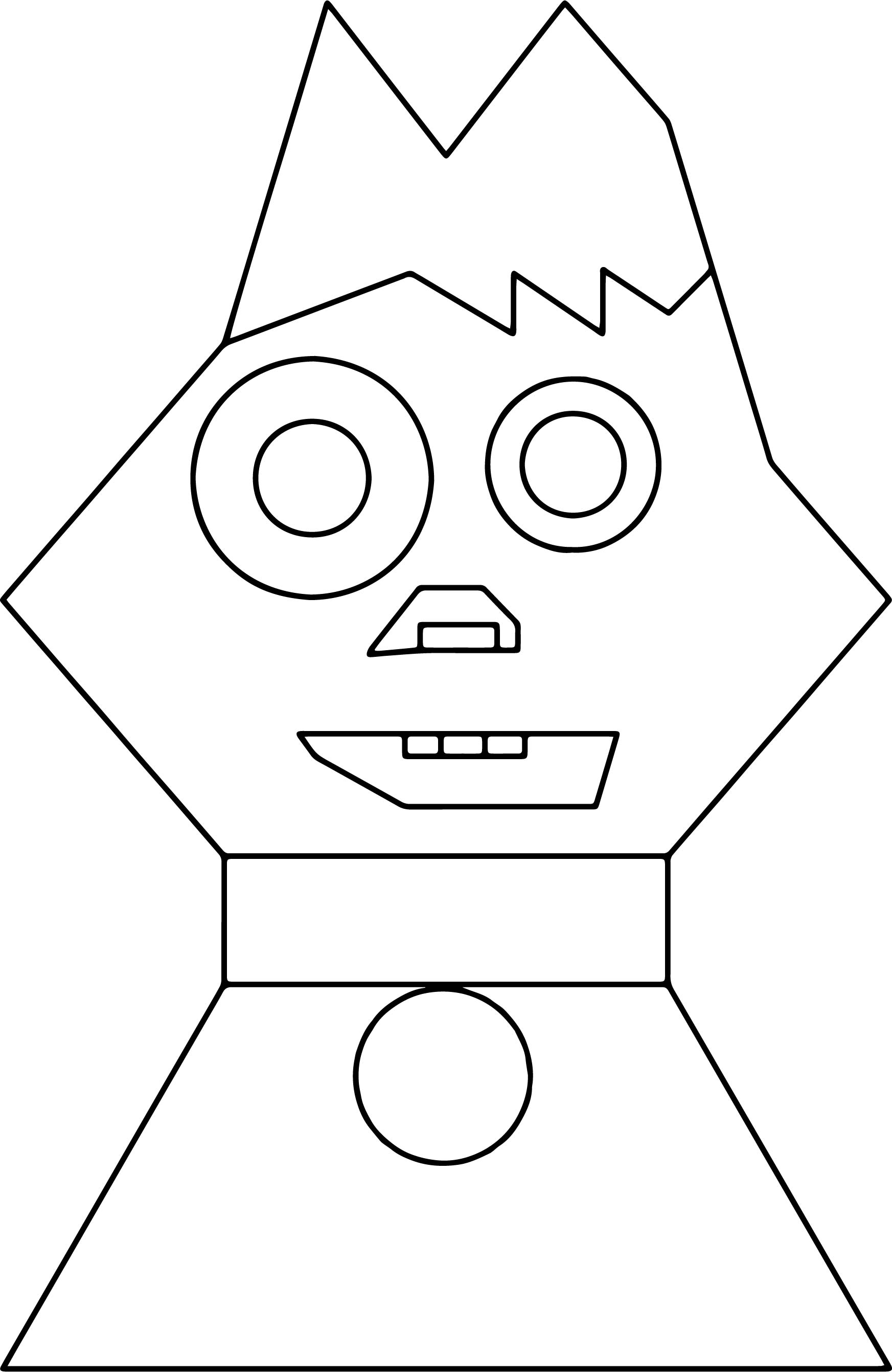cartoon cat coloring pages - cartoon cat face coloring page